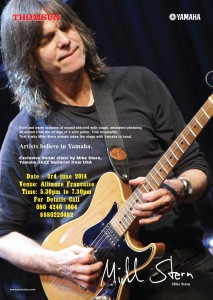 Mike Stern - Guitar Clinic