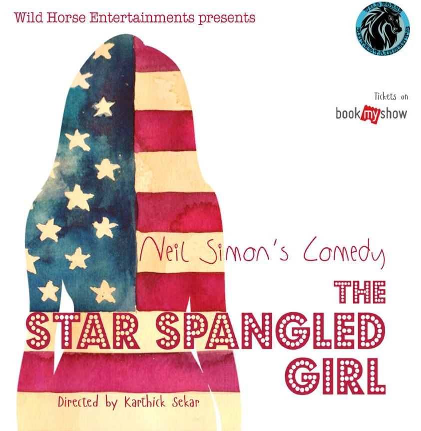12 mar The Star Spangled girl Poster