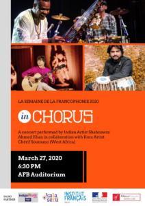 27th March | InChorus Concert